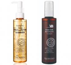 Skin Watchers set cleansing oil and toner