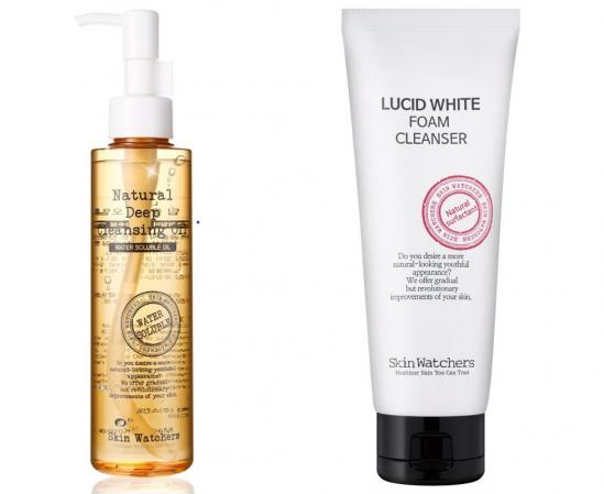 Set Skin Watchers Double Cleansing