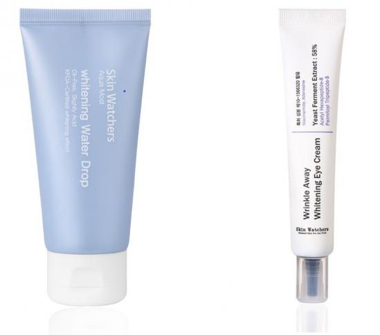 Whitening Set Skin Watchers Water Drop and Eye Cream