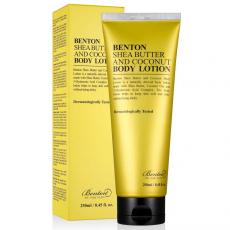 ЛОСИОН ЗА ТЯЛО  BENTON Shea Butter and Coconut Body Lotion 250 ml