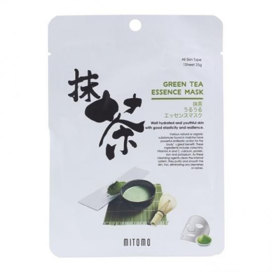 Mitomo Green Tea Essence Mask