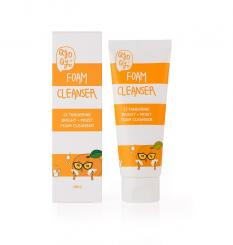 Qyo Qyo Tangerine Bright Moist Foam Cleanser