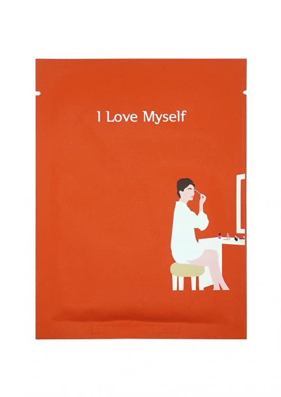PACK-AGE I Love Myself make up boosting mask 25 g