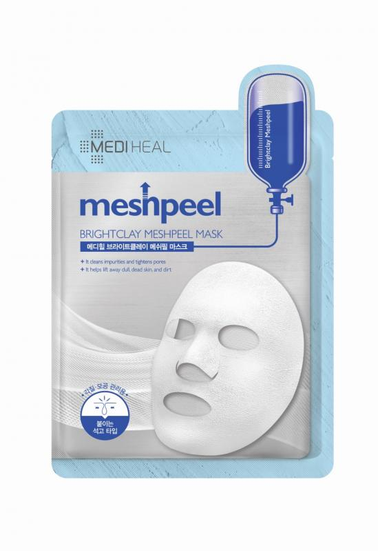 Meshpeel cleansing mask with white clay